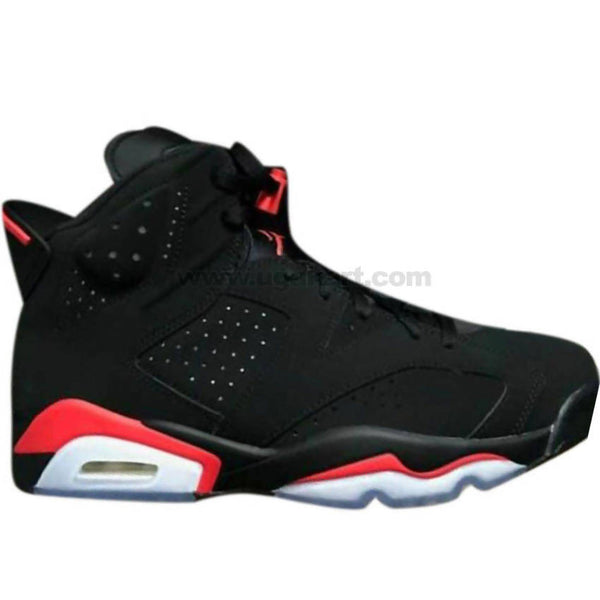 Men's Black, Red & White Sneaker