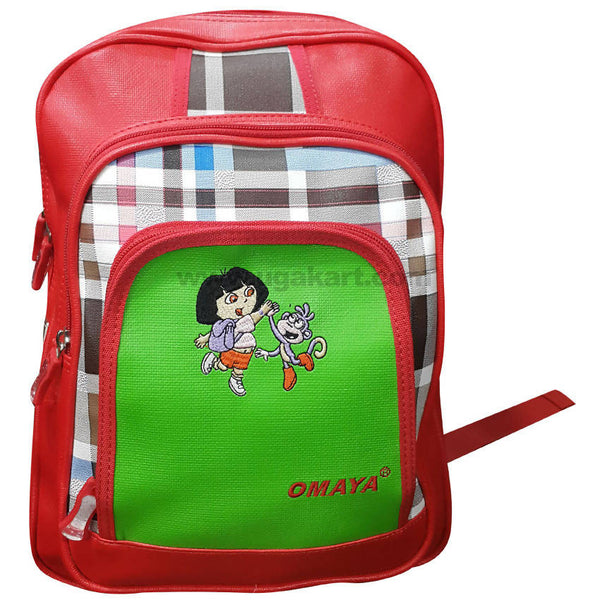 Omaya Red & Green Kid's School Bag