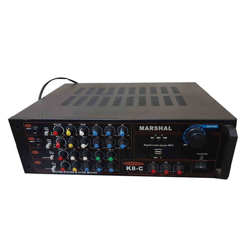 Marshal K8-C AMPLIFIER PROFESSIONAL AUDIO KARAOKE USB/SD Player