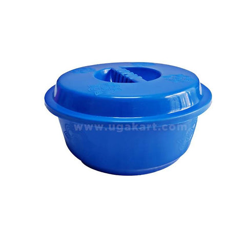2 Pcs Small Kitchen Plastic Basin - Blue