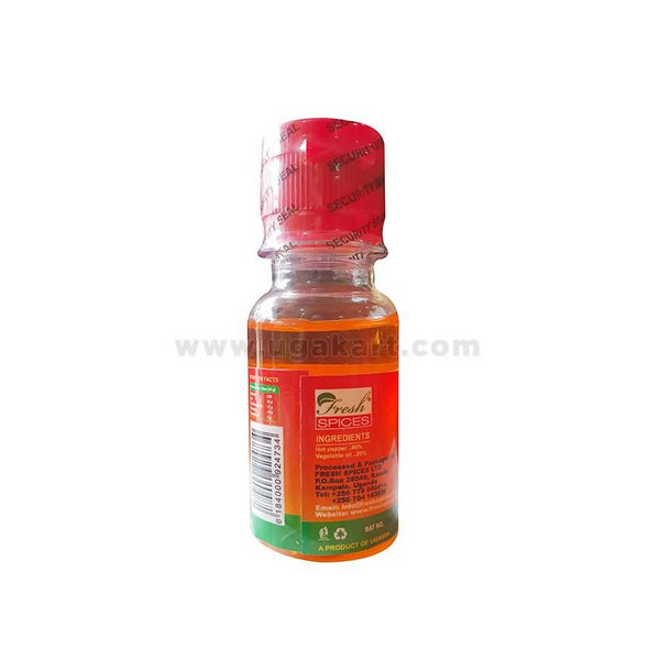 Spices Hot Pepper Condiment Chilli Oil Akashenda 60ml (Liquid)