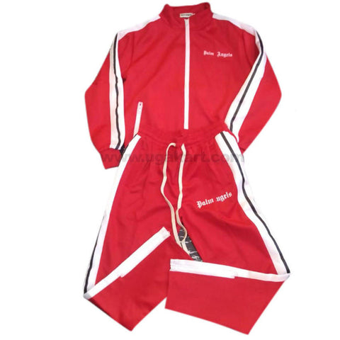 Men's Red & White Full Track Suits