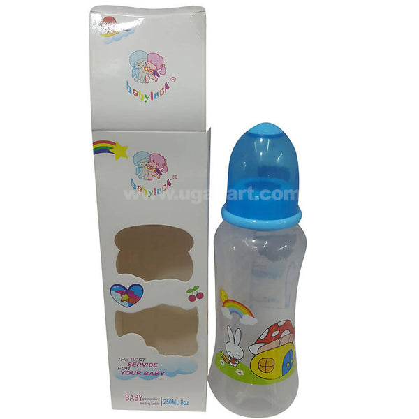 Blue Baby Feeder Bottle 250ml