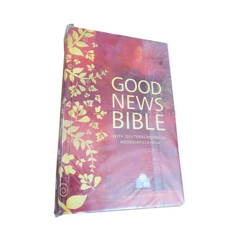 Good News Bible With Deuterocanonical_Red_For Catholic