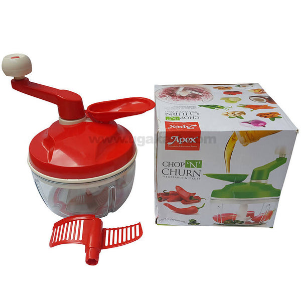 Apex Chop N Churn Vegetable & Fruit Cutter