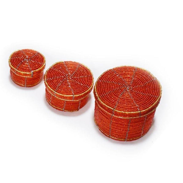 Jewellery Box 3 In 1 Orange