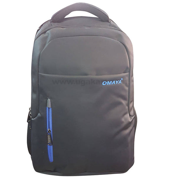 Omaya Black Laptop Bag