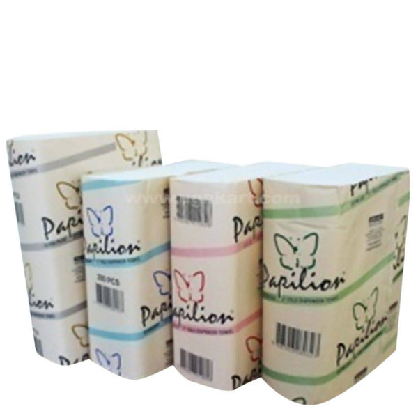 Papilion Z Towel Napkins 200 Pcs Box