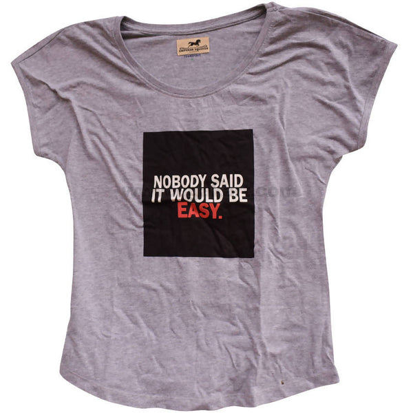 Women Grey T Shirt