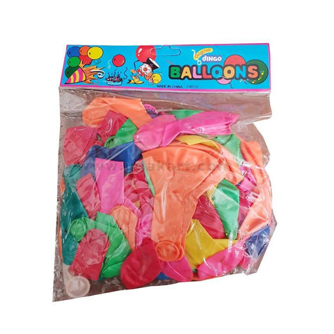 Dungo Balloons Multi Colour-72 PC