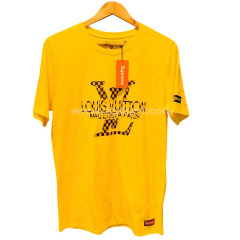 Louis Vuitton Yellow Men's T-Shirt