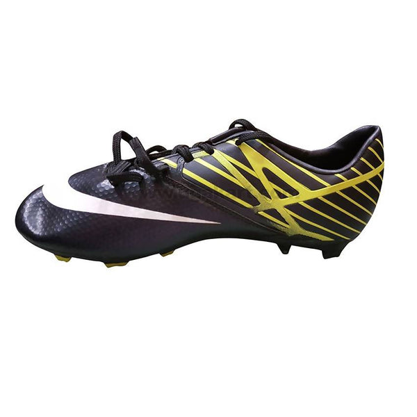 Green and Black soccer cleat Shoe