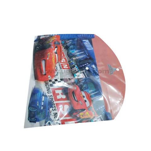 Clear Bag With Cars A4 Size File