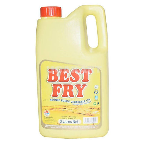 Best Fry Cooking Oil 3L