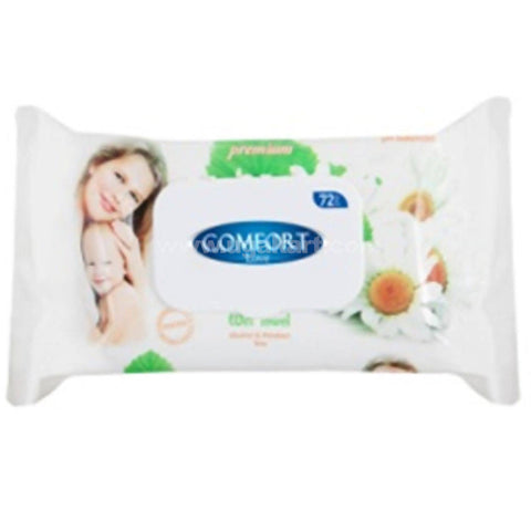 Comfort Love Wet Wipes Camomile 72 Pcs