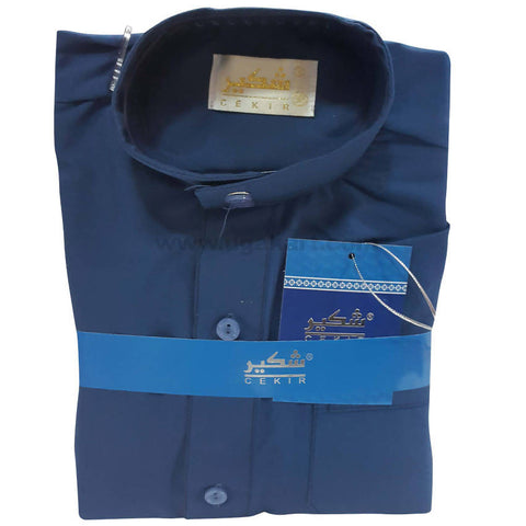 Pathani Suit Kids Blue