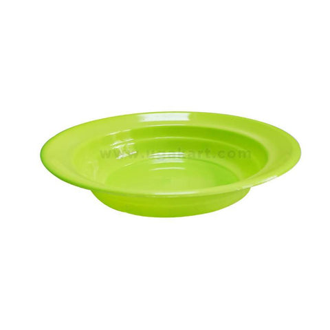Plastic Plate - Lime Green