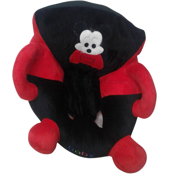 Red and Black Baby Cushion Seat