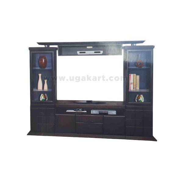 Big Tv Table With Caboured And Drawer'S-3Pc Example Stand-Size 5/5