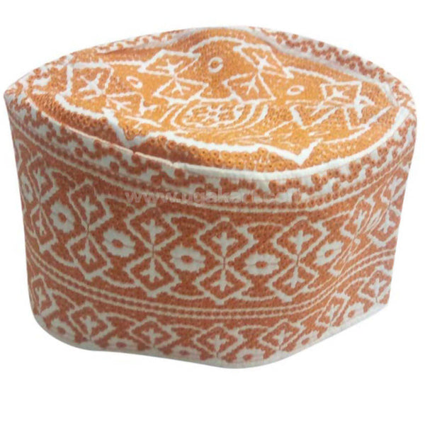Kifia Turban Cap_Orange