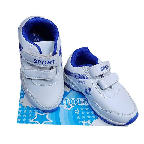 Sports Shoes_White & Blue
