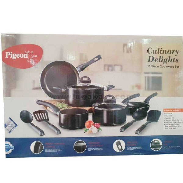 Pigeon Marbello 11 PC Cookware Set