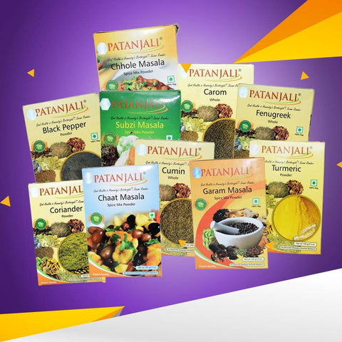 Patanjali Spices Value Pack