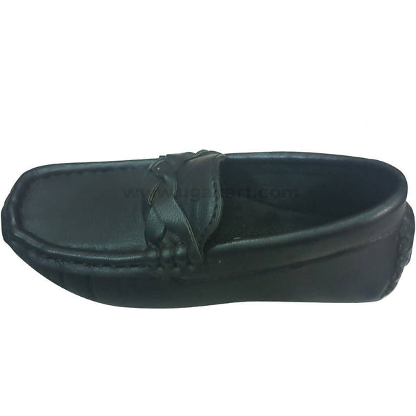 Black Loafer Shoes For Boys(Size-15 to 20)