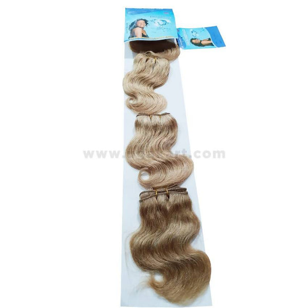 Human Hair-Golden -4 Pc With 6 Inch