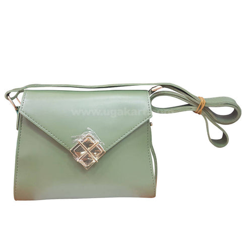 Four Square Teal Womens Cross Bag