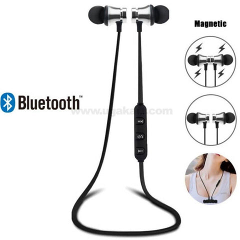 Magnetic wireless Earphones