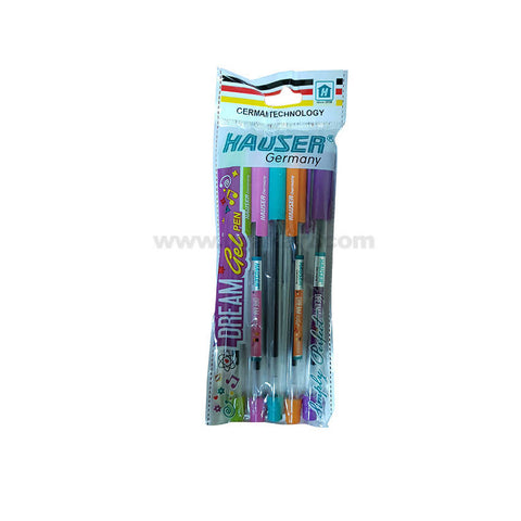 Hauser Dream Gel Pen-5pcs