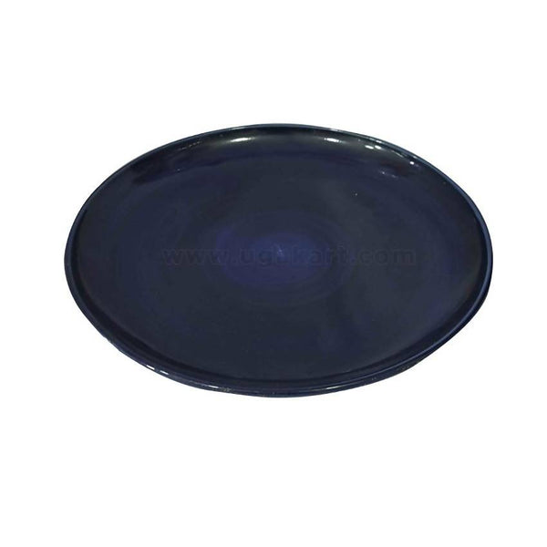 Dark Blue Ceramic Dinner Plate 6Pcs