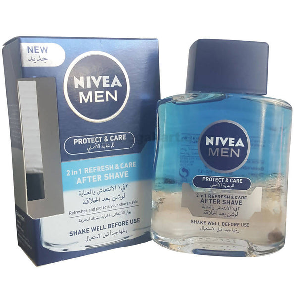 Nivea After Shave Protect & Care Liquid For Men,100ml