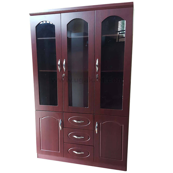 Wooden Triple Door Caboured With 3 Draw