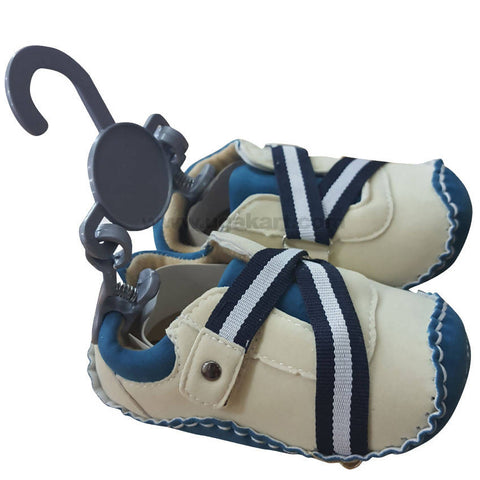 Cream Color Shoes For Boys Kids 0 to 6 months