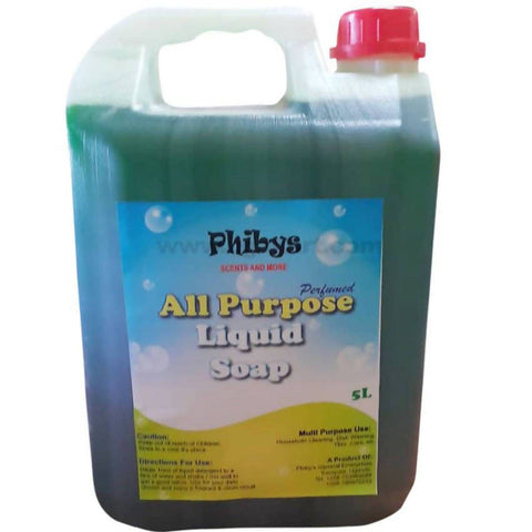 Phibys Perfumed All Purpose Liquid Soap_5L