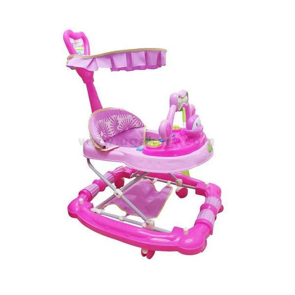 Happy Baby Pink Baby Walker