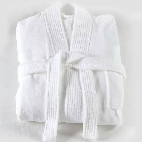 White Bath Robe