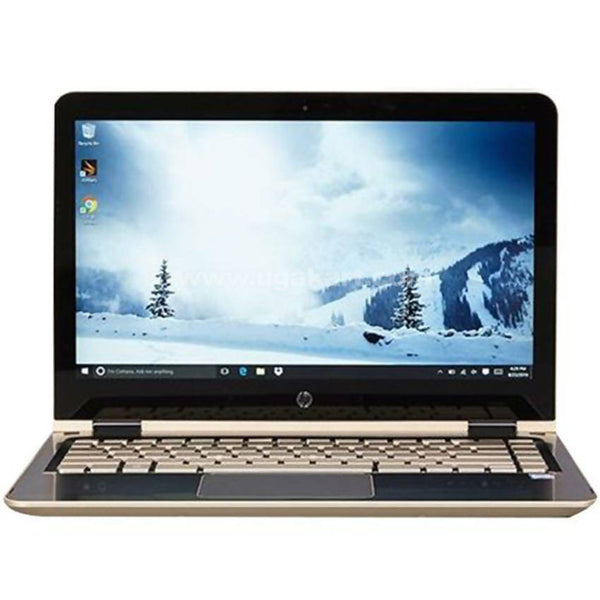 "Refurbished HP Pavilion x360 Convertible Laptop, 14"" Gold"