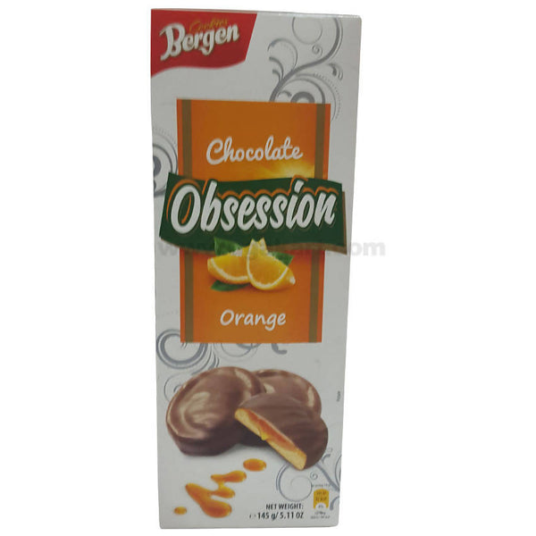 Bergen Obsession Chocolate Orange Cookies, 145gm
