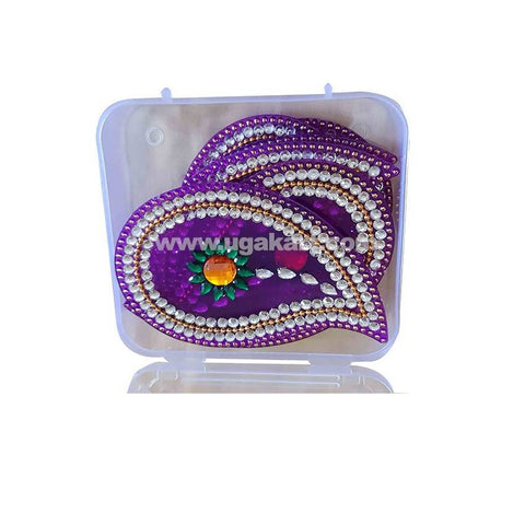 Rangoli Set Purple
