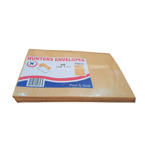 "Hunters Envelopes (12"" X 9"") 50PC"