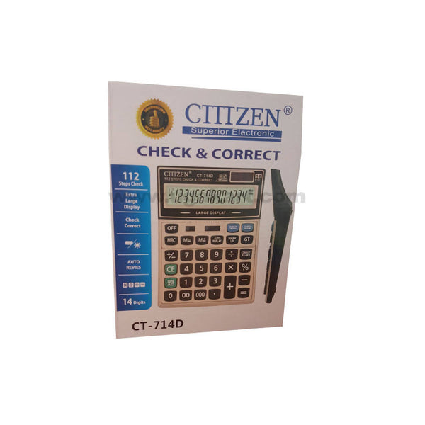 CTTTZEN 14 Digits Calculator Ct-714D