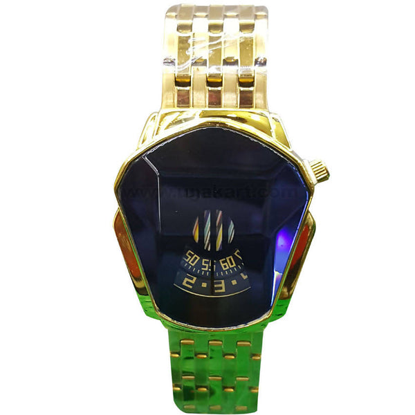 Women's Gold-Tone Watch with Alloy Strap