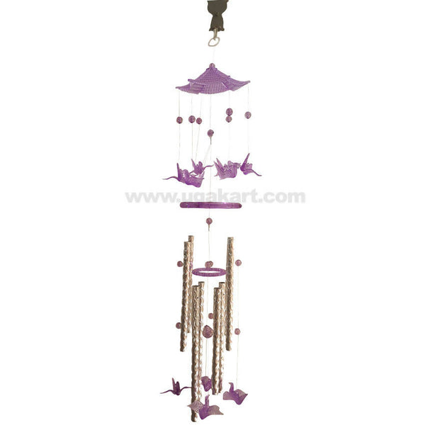 Wind Chime Hanger Blue