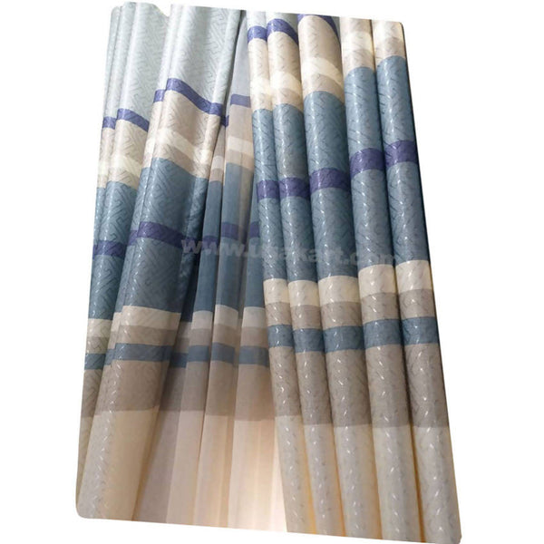Blue and Sandal Curtain (Price per Meter)