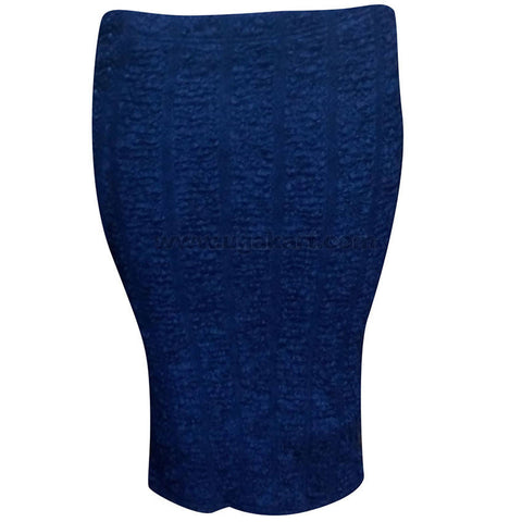 Women's Navy Blue Short Skirt