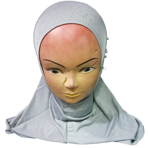 Hijab Gray Headscarf
