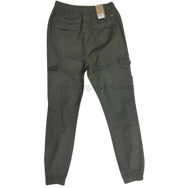 Cotton Fern Color Cargo Trouser For Mens